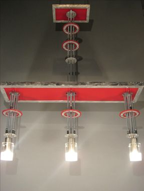 Custom Made Custom Contemporary Chandelier Design