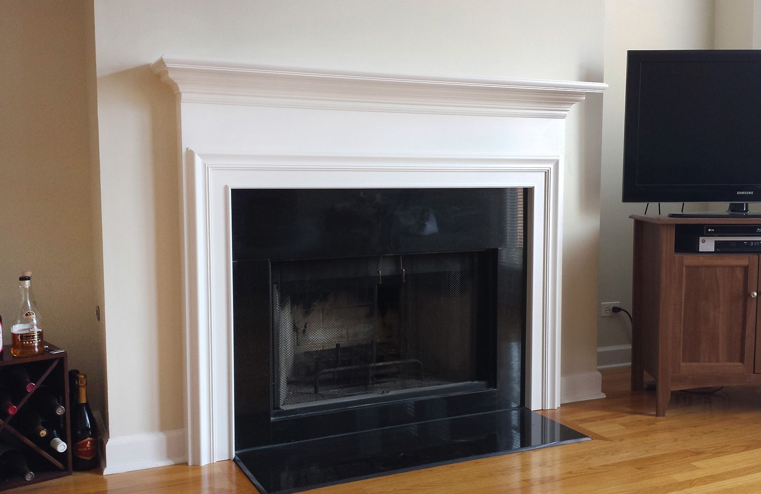 Custom made columbus wood fireplace mantel by accolade fireplace custom made columbus wood fireplace mantel teraionfo