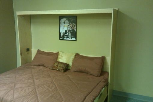 Custom Made Horizontal Murphy Bed