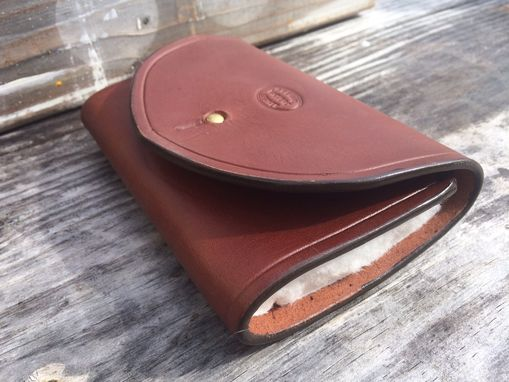 Custom Made Leather Fly Fishing Wallet