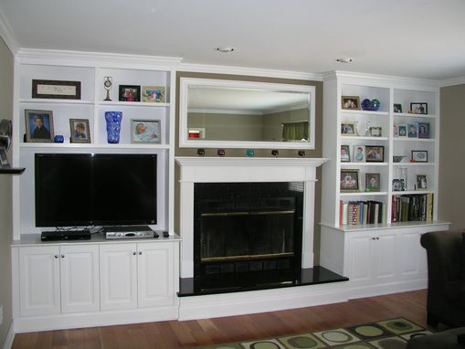 Custom Made Fireplace Media Wall