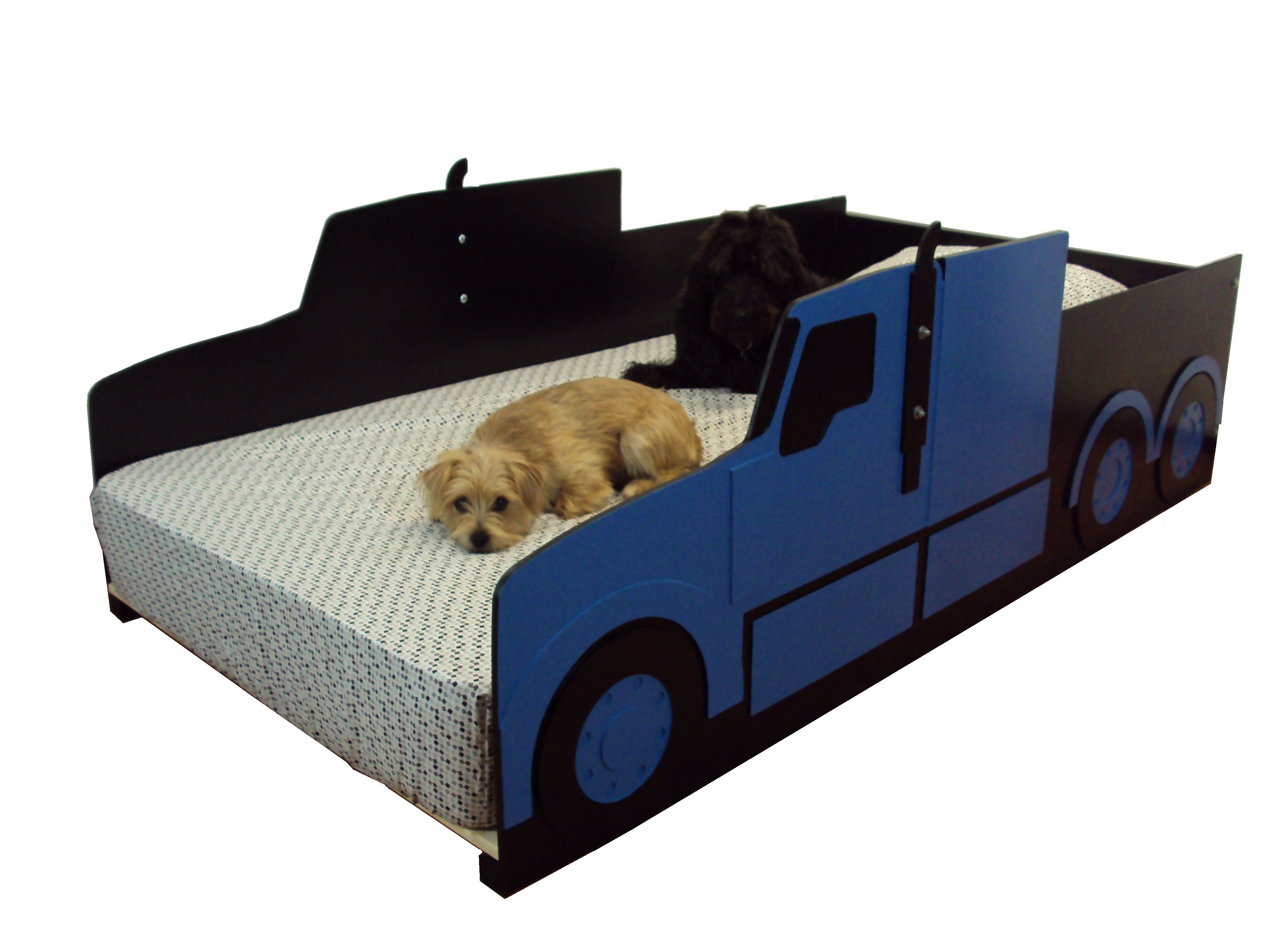 Picture of: Custom Semi Tractor Truck Twin Kids Bed Frame Handcrafted Truck Themed Children S Bedroom Furniture By Tradecraft Specialties Custommade Com