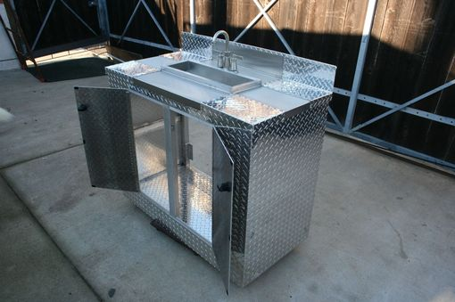 Custom Made Custom Stainless Steel Cabinet