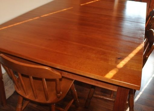 Custom Made Cherry Shaker Dining Table