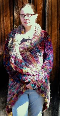 Custom Made Psychedelic Spiral Sweater