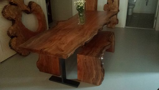 Custom Made Live Edge Dinning Tables