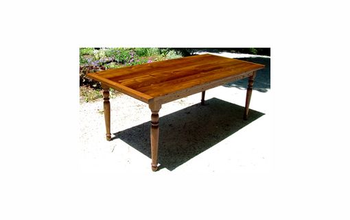 Custom Made Recycled Chestnut Dining Table