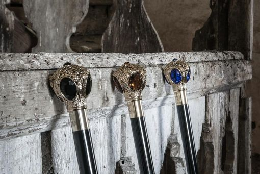 Custom Made Luxury Walking Sticks Made In Italy
