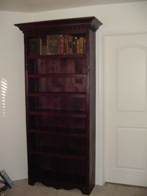 Custom Made Large Bookshelf