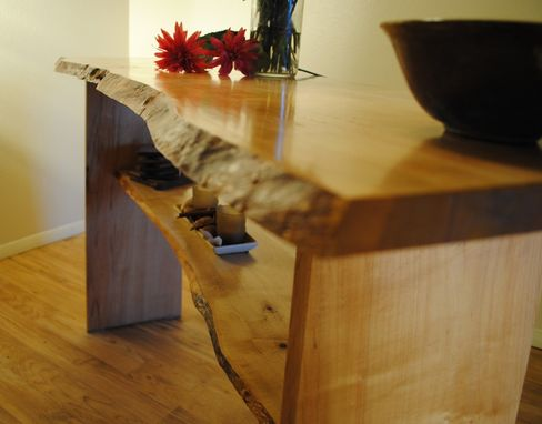 Custom Made Maple Console Table