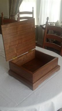 Custom Made Bible Box - Walnut