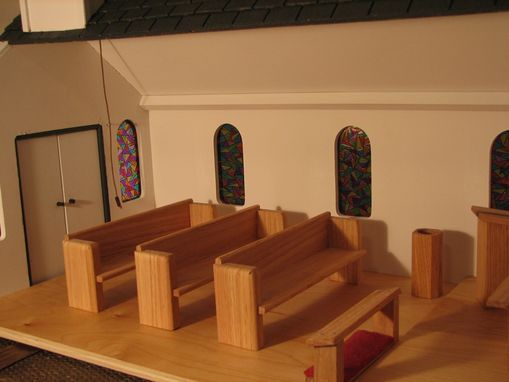 Custom Made Toy Wooden Church