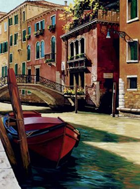 "Custom Made ""Venetian Boats Ii"""