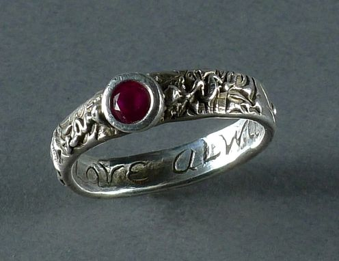 Custom Made Message Ring