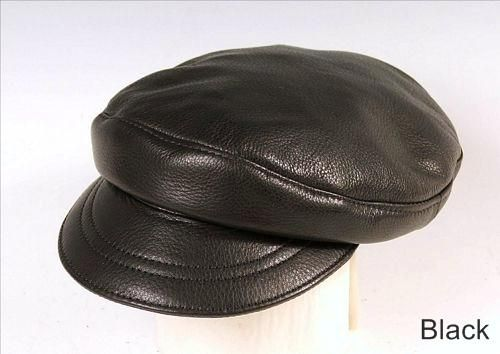 Custom Made Greek Cap, Leather