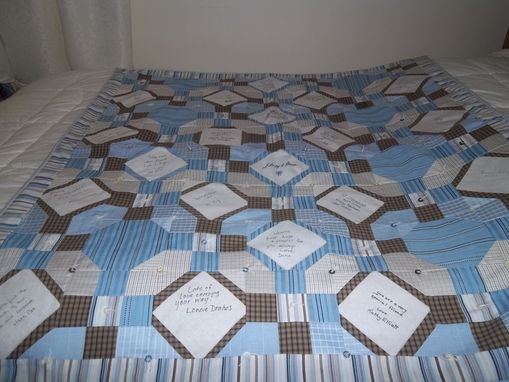 Custom Made Seven Shirts Quilt