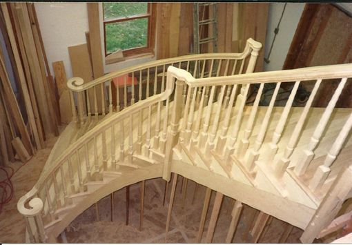 Custom Made Flaired Stair