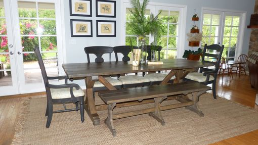 Custom Made Farmhouse Dining Table