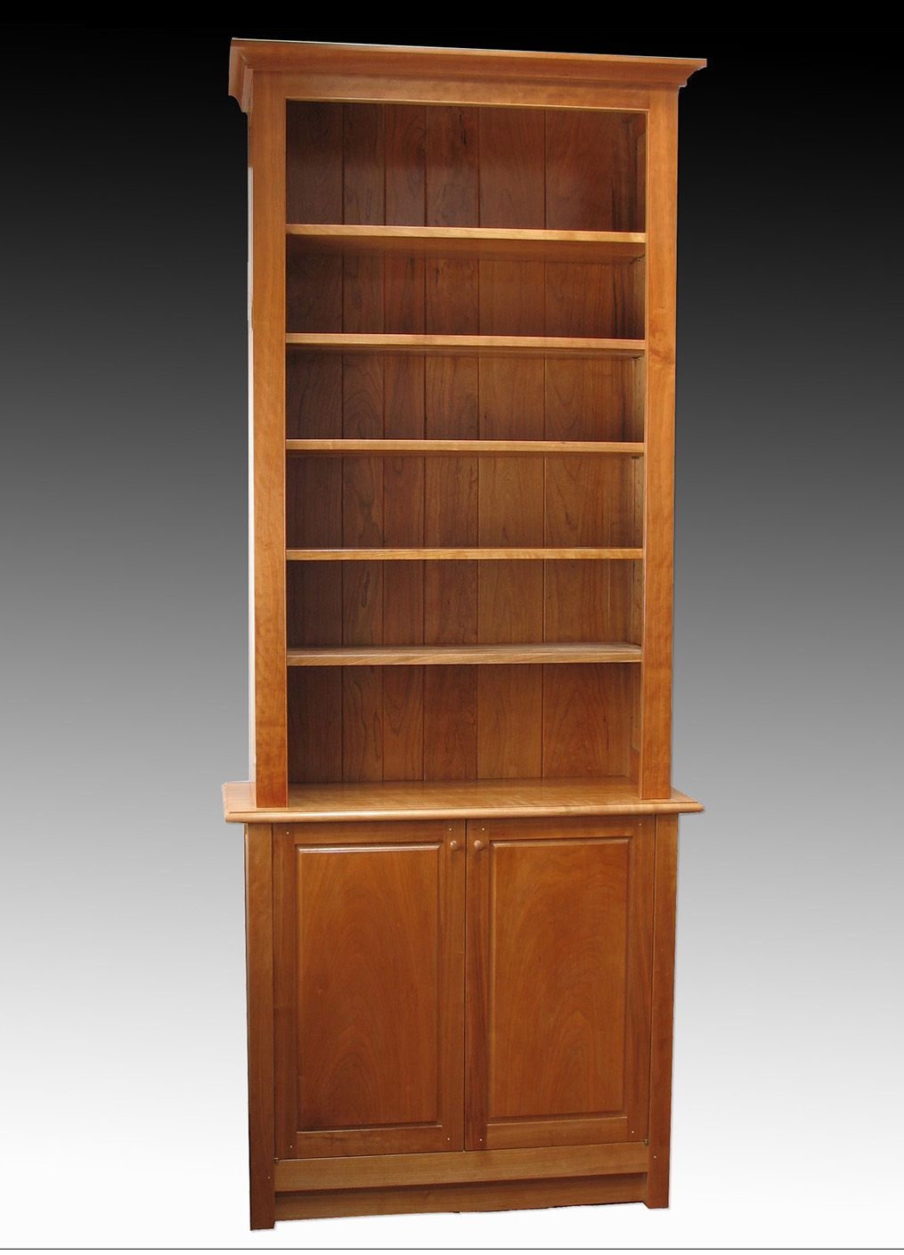 Custom Free Standing Bookcase By David Klenk Custommade Com