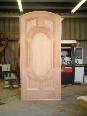 Custom Made Large Door Made From Photograph.