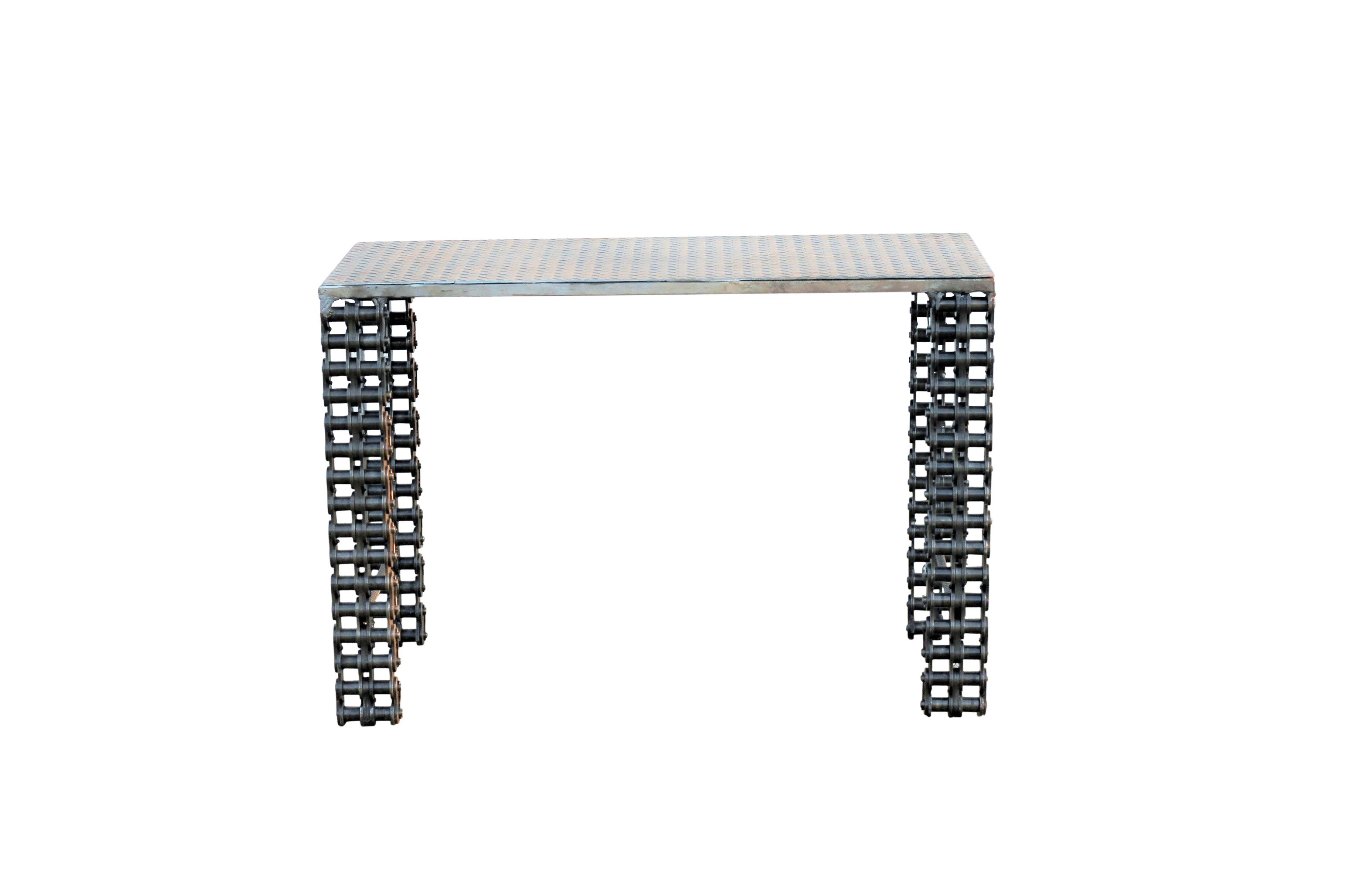 Buy a Hand Crafted Custom Made Industrial Furniture Sofa Table By ...