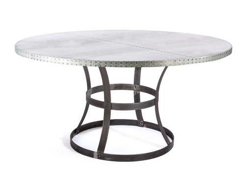 buy custom zinc table zinc dining table  madera steel