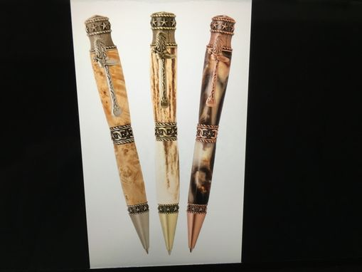 Custom Made Hand Crafted Cowboy Style Pen