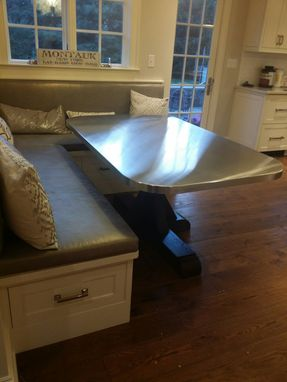 Custom Made Pedestal Dining Table