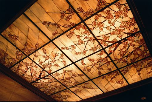 Custom Made Stained Glass Skylight