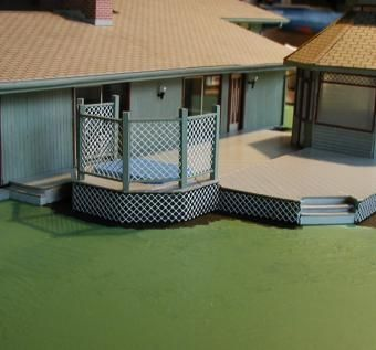 Custom Made Miniature Ranch House