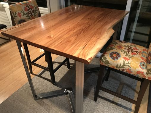 Custom Made Live Edge Table - Maple