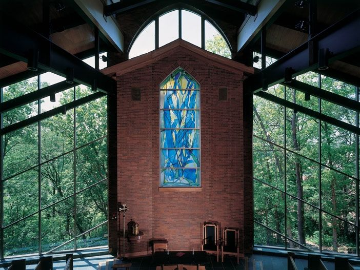 Handmade Our Lady In The Woods Chapel 2001 By Kemper