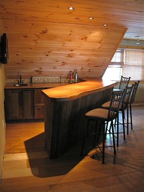 Custom Made Rustic Bar 2