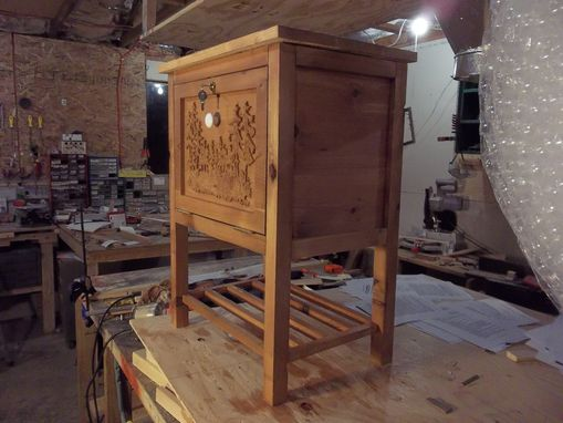 Custom Made Liquor/Storage Cabinet/ Endtable