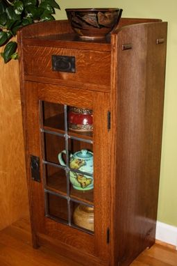 Custom Made Arts And Crafts Cabinet