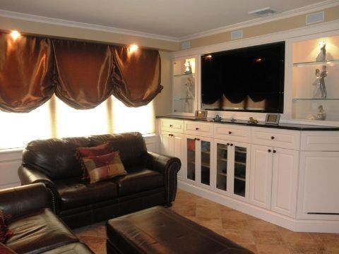 Custom Made Tv Entertainment Center