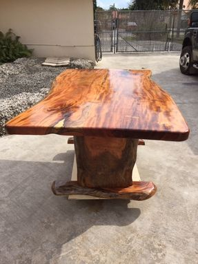 Custom Made Handcrafted Live-Edge Tables