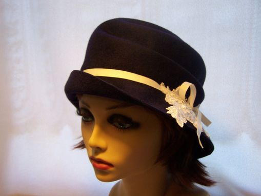 Custom Made 1920s Crush Cloche