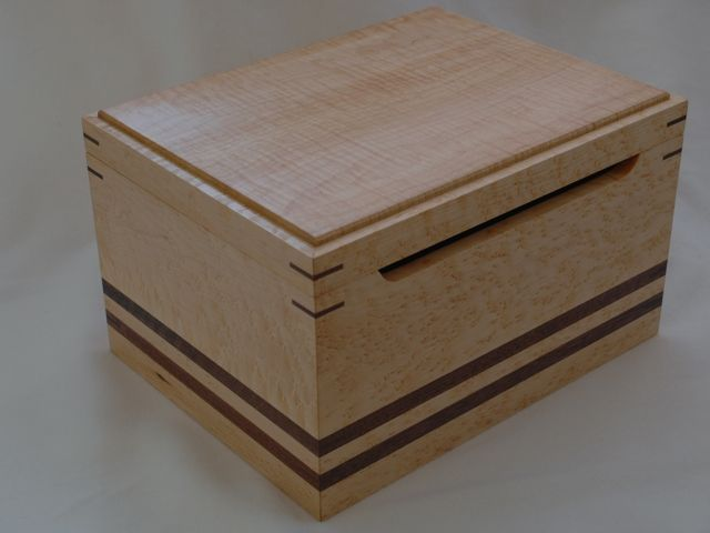 Custom Wedding Card Box by Clark Wood Creations | CustomMade.com