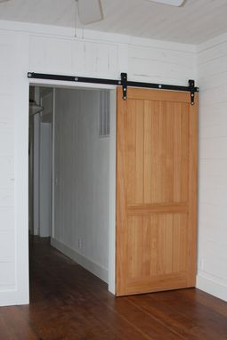Custom Made Doug Fir Interior Door