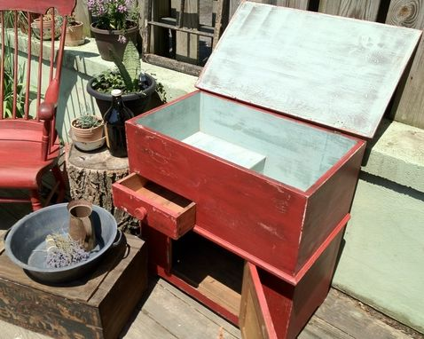 Custom Made Primitive Farm Style Dutch Dry Sink
