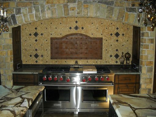 Custom Made Stove Fireback