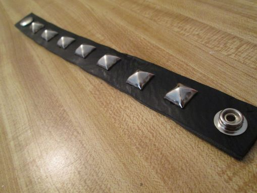 "Custom Made 1"" Leather Bracelet"