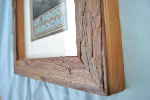Custom Made Bark Picture Frame