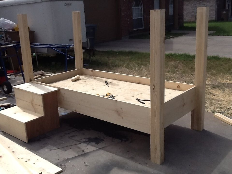 Hand Crafted Wrestling Ring Bed By Mikes Custom Woodwork