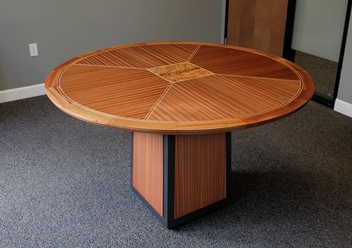 Custom Made Sapele Meeting Table
