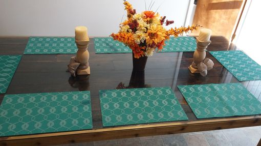Custom Made Reclaimed Oak Dining Table With Hand Forged Hardware