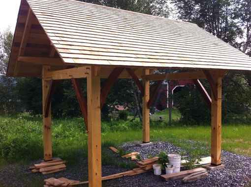 Custom Made Timber Frame Pavilion