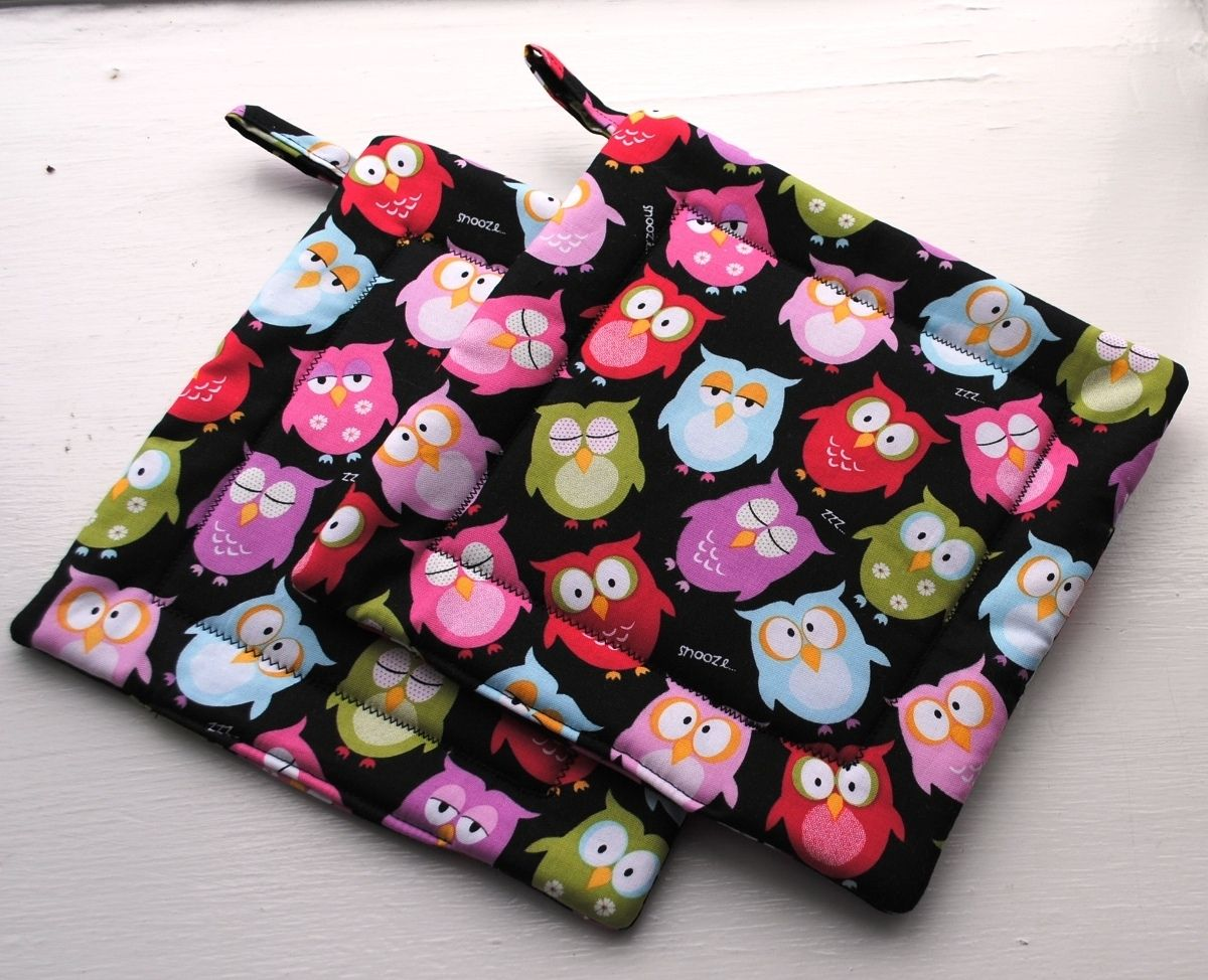 Custom Made Pot Holders Oven Mitts Hot Pads