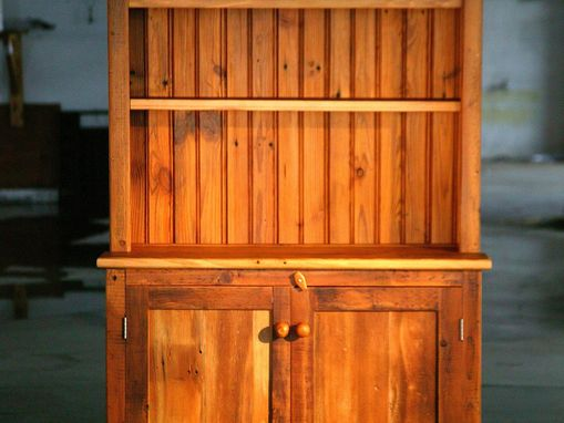 Custom Made Open Top Hutch Hutch